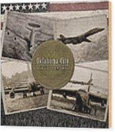 Oc-alc Vintage Wood Print