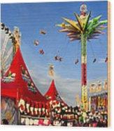 Oc Fair Fun Wood Print