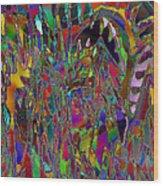 Ocd Nightmares Wood Print