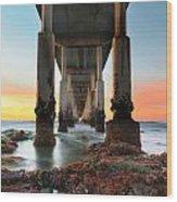 Ocean Beach California Pier 2 Wood Print