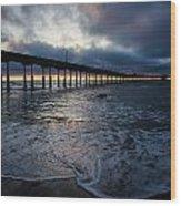 Ocean Beach Pier 4 Wood Print