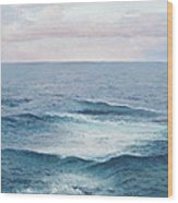 Ocean By Jan Matson Wood Print