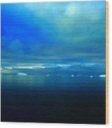 Ocean Calm Wood Print