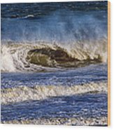 Ocean City Surf's Up Wood Print