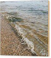 Ocean Curl Wood Print