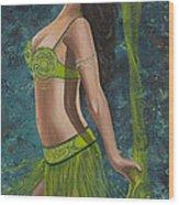 Ocean Dancer Wood Print