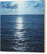 Ocean Fall Wood Print