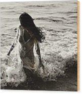 Ocean Mermaid Wood Print