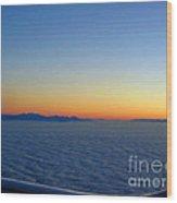 Ocean Of Cloud 2 Wood Print