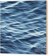 Ocean Ripples Wood Print by Artist and Photographer Laura Wrede