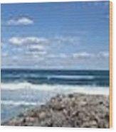 Great Ocean Road Surf, Australia - Panorama Wood Print