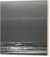 Ocean Solitude Wood Print