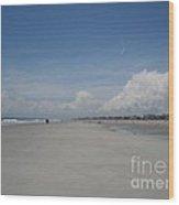 Ocean Stroll Wood Print