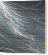 Ocean Swell Fractal Wood Print