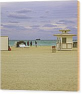Ocean View 3 - Miami Beach - Florida Wood Print
