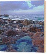 Ocean View II Wood Print