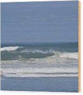 Ocean Wave 1 Wood Print