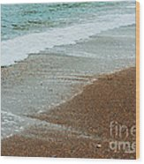 Ocean Wave Color Palette Wood Print