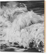 Ocean Wave I Wood Print