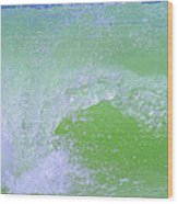 Ocean Wave Wood Print