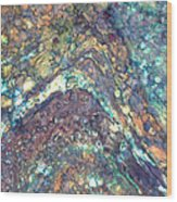 Ocean Waves 008 Wood Print
