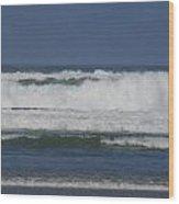 Ocean Waves 2 Wood Print