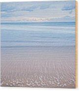 Ocean's Retreat Wood Print