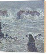 Oceans Waves Wood Print