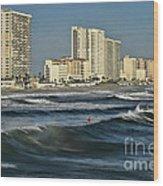 Oceanside Wood Print