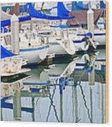 Oceanside Harbor 2 Wood Print