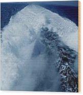 Oceon Waves Denmark Wood Print