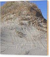 Ocracoke Island Dunes Nc Wood Print