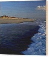 Ocracoke Surf Wood Print