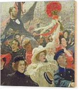 October 17th 1905 Wood Print