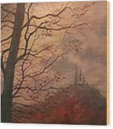 October At Holy Hill Wood Print