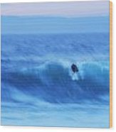 October Surf 3 Wood Print