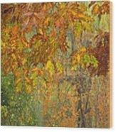 October Watercolors_2 Wood Print