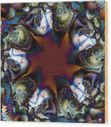 Octopi Seance Wood Print