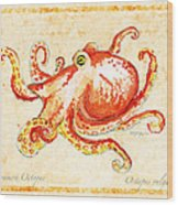 Octopus For Study Wood Print