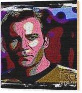 Ode To Star Trek Wood Print by John Malone