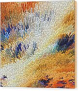 Odyssey - Abstract Art By Sharon Cummings Wood Print