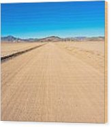 Off-road To Death Valley National Park Wood Print