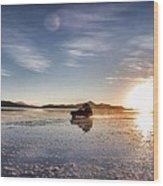 Off Road Uyuni Salt Flat Tour Select Focus Wood Print