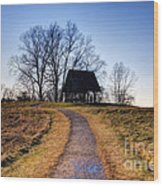 Off The Beaten Path Wood Print