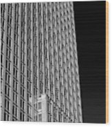 Office Tower  Montreal, Quebec, Canada Wood Print