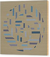 Offset Movement    Wood Print