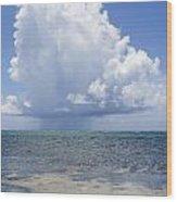 Offshore Storm Wood Print