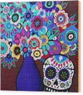 Ofrenda De Flores Wood Print