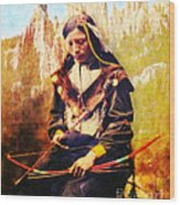 Oglala Homeland Wood Print