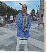 Oglala Lakota Sioux Wood Print
